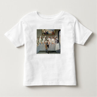 St. Hugh of Cluny (1024-1109) in the Refectory of Toddler T-shirt