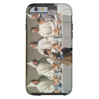 St. Hugh of Cluny (1024-1109) in the Refectory of Tough iPhone 6 Case