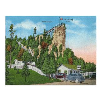 St. Ignace Michigan del vintage Tarjetas Postales