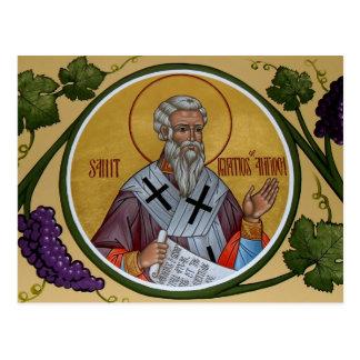 St. Ignatios of Antioch Prayer Card Postcard
