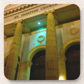 ST. IGNATIUS CHURCH in San Francisco, California Drink Coaster