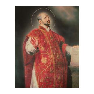 St Ignatius de Loyola Cuadro De Madera