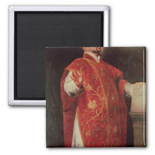 St Ignatius del fundador de Loyola de las jesuitas Imán Cuadrado