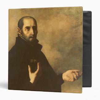 St.Ignatius Loyola 3 Ring Binder