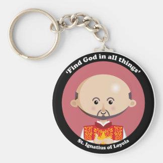 St Ignatius of Loyola Key Chains