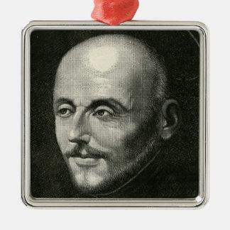 St. Ignatius of Loyola Metal Ornament