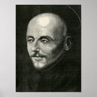 St. Ignatius of Loyola Poster