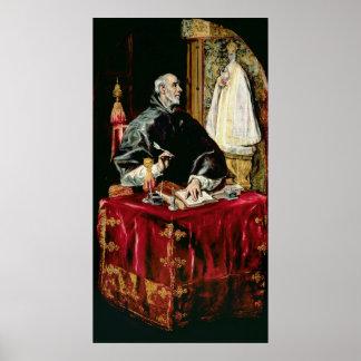 St. Ildefonsus Poster
