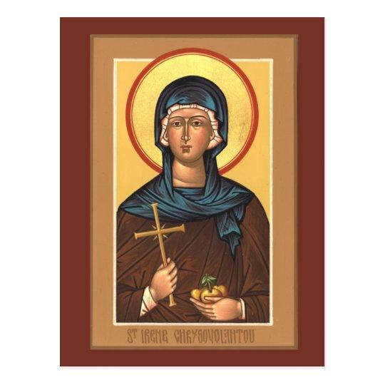St. Irene Chrysovolantou Prayer Card