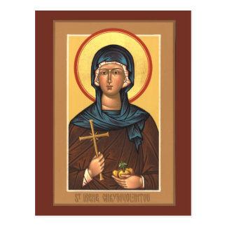 St. Irene Chrysovolantou Prayer Card Postcard
