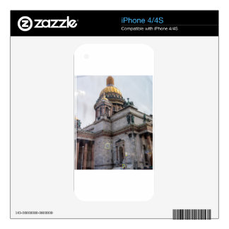 St. Isaac's Cathedral St. Petersburg, Russia Decal For The iPhone 4