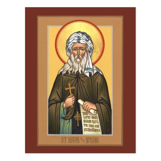 St. Isaac the Syrian Prayer Card