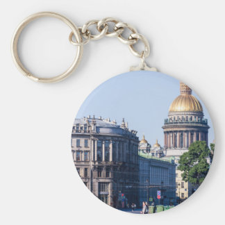 St Isaac's Cathedral St Petersburg Russia Keychain