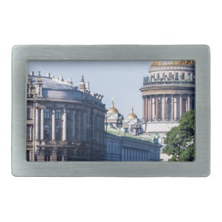 St Isaac's Cathedral St Petersburg Russia Rectangular Belt Buckle