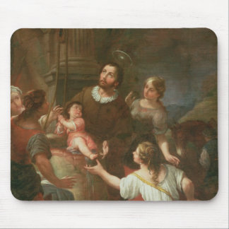 St. Isidoro y el milagro en el pozo Tapetes De Ratones