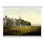 St Ives, castillo de Tregenna, clase de Cornualles Postal