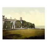 St Ives, castillo de Tregenna, clase de Cornualles Tarjetas Postales