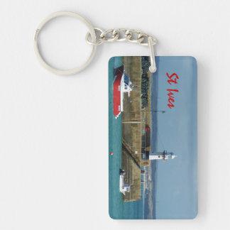 St Ives Cornwall England Photo Keychain
