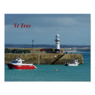 St Ives Cornwall England Photo Poster