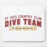 St Ives Dive Team Mouse Pad