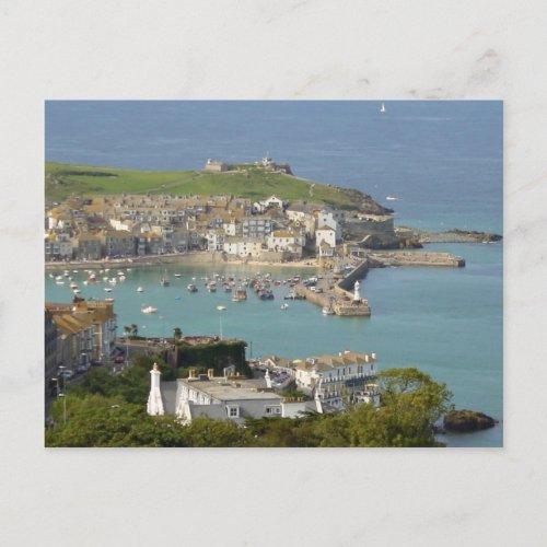 St Ives - England postcard