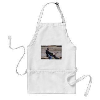 st ives painter adult apron