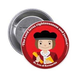 St. Ivo Kermatin 2 Inch Round Button