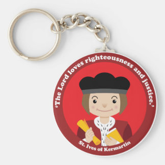 St. Ivo Kermatin Keychain