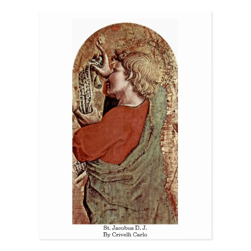 St. Jacobo D.J. Por Crivelli Carlo Tarjetas Postales