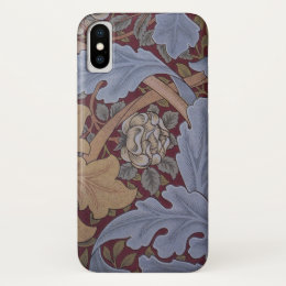 St. James Acanthus Pattern by William Morris iPhone X Case
