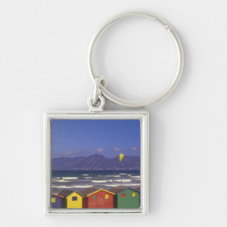 St. James Bay Bathing Boxes, near Capetown, 2 Keychain