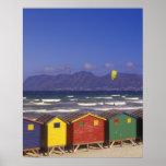 St. James Bay Bathing Boxes, near Capetown, 2 Poster