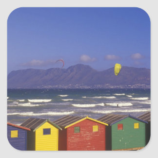 St. James Bay Bathing Boxes, near Capetown, 2 Stickers