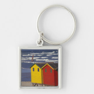 St. James Bay Bathing Boxes, near Capetown, 3 Keychain