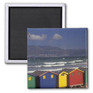 St. James Bay Bathing Boxes, near Capetown, Magnet
