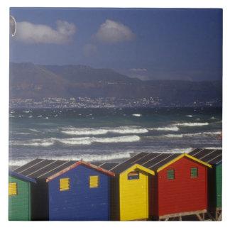 St. James Bay Bathing Boxes, near Capetown, Tile