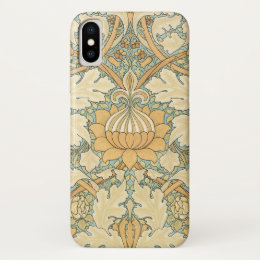 St. James by William Morris, Textile Pattern iPhone X Case