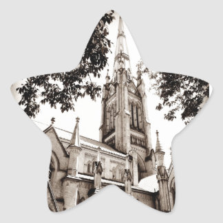 St. James' Cathedral Church Star Sticker