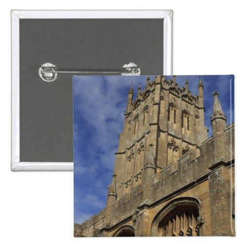 St. James Church Tower, Chipping Camden Pinback Buttons
