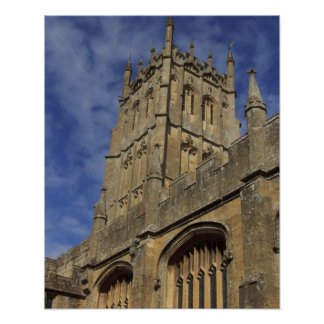 St. James Church Tower, Chipping Camden Poster
