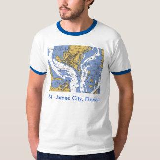 St. James City, Florida Nautical Chart T-shirt