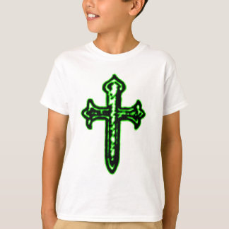 St James Cross in Green Tint T-Shirt