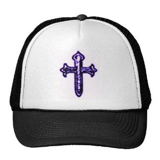 St James Cross in Purple Tint Trucker Hat