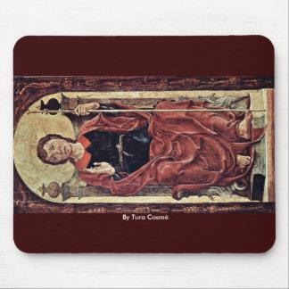 St. James D. Ä. By Tura Cosmè Mousepad