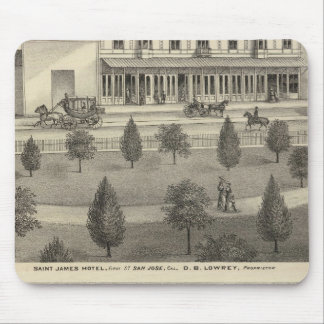 St James Hotel, residence Mouse Pad