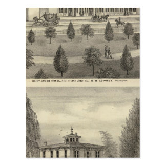 St James Hotel, residence Postcard