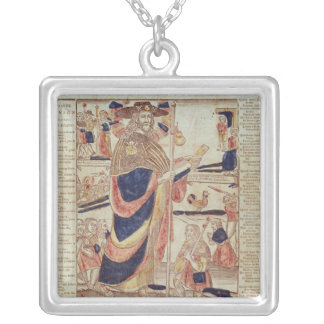 St. James of Compostela, c.1824 Silver Plated Necklace