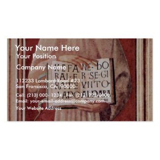 St. James Of Todi By Uccello Paolo (Best Quality) Business Card