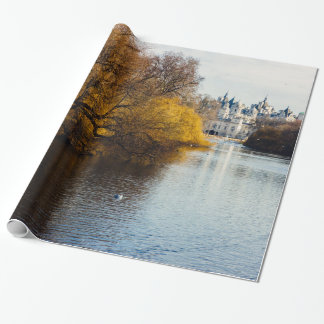 St James' Park Horse Guards Parade, London. Wrapping Paper