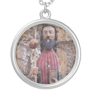 St James Pilgrim Silver Plated Necklace